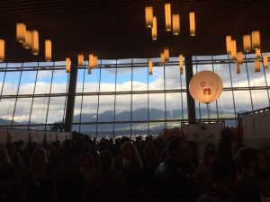 Vancouver International Wine Festival: a breathtaking view